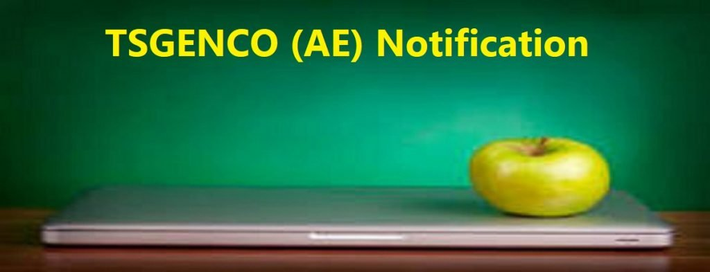 TSGENCO (AE) Notification