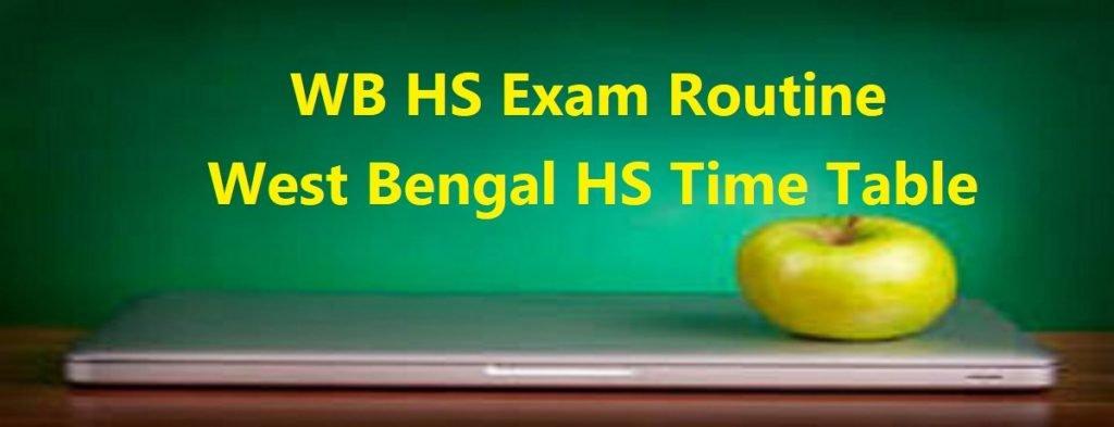 WB HS Exam Routine